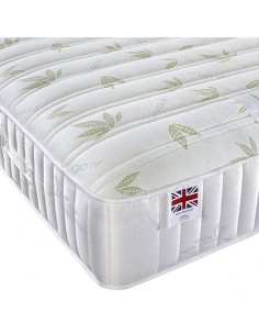 Aspire Furniture Alovera Memory Gold Super King Mattress