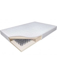 BabyStart Luxury Sprung 140 x 69cm Cot Mattress